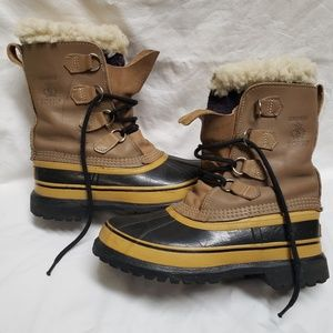 Sorel Caribou Winter Duck Boots Size 7